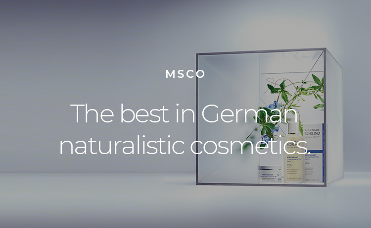 The best in German naturalistic cosmetics.